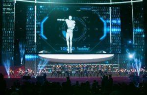科技大廠全集團百人員工舞蹈表演2